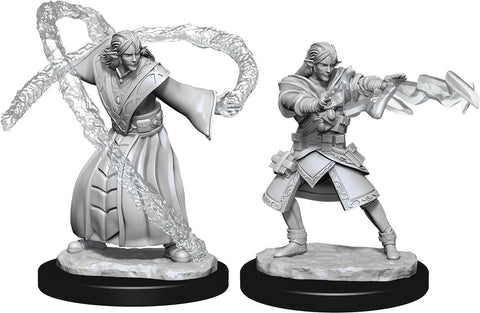 Nolzur`s Marvelous Unpainted Miniatures: W13 Elf Wizard Male