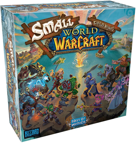 Small World of Warcraft (with Bonus Faction Dice!)