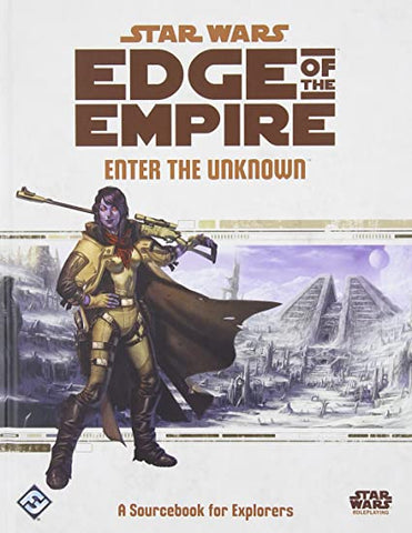 Star Wars Edge of the Empire Enter the Unknown Sourcebook