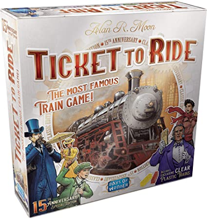 Ticket to Ride US: 15th Anniversary Edition