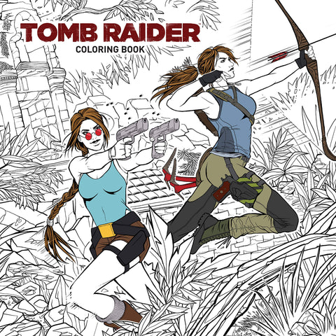 Tomb Raider Coloring Book