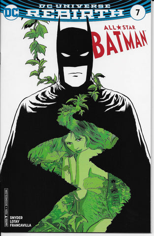 All Star Batman #7 (Francavilla Variant Cover) Front