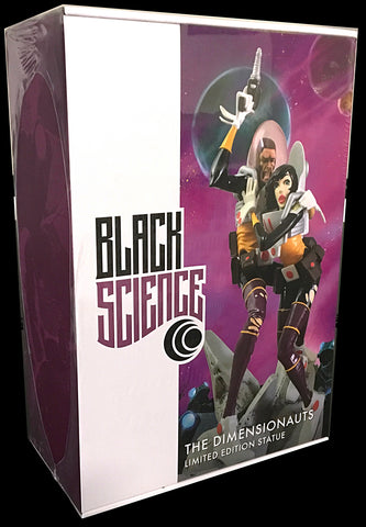 Black Science Dimensionauts Statue Outer Box