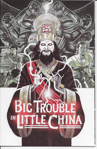 Big Trouble In Little China Old Man Jack #1 (Movie Poster Variant Cover) Front