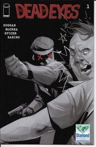 Dead Eyes #1 (Diamond Comics Black and White Variant Cover) Front