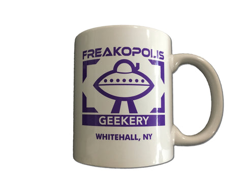Freakopolis Geekery Coffee Mug