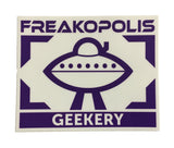 Geekery UFO Logo Sticker