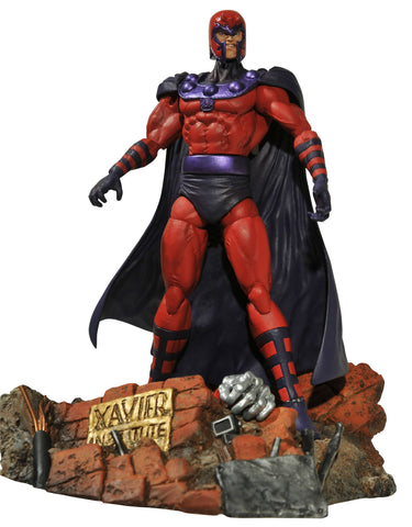 Magneto Diamond Select Action Figure (Posed)