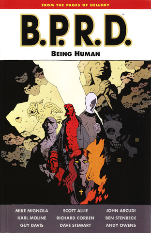 BPRD BEING HUMAN TP (AUG110037)
