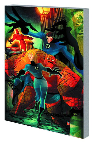 FANTASTIC FOUR ISLAND OF DEATH TP