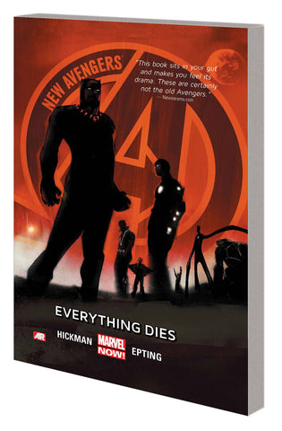 NEW AVENGERS TP VOL 01 EVERYTHING DIES