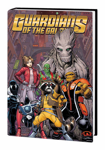 GUARDIANS OF GALAXY PREM HC VOL 01 EMPEROR QUILL