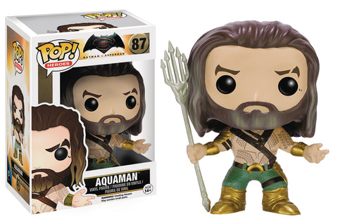 POP BVS AQUAMAN VINYL FIG 87