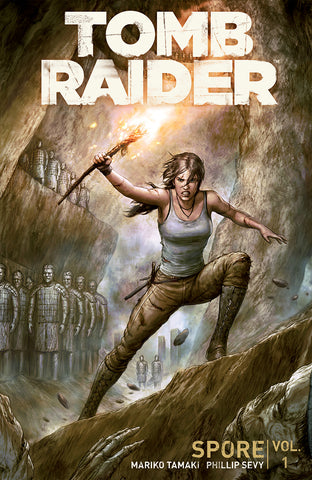 TOMB RAIDER 2016 TP VOL 01 SPORE (O/A) (C: 1-0-0)