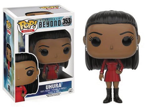 POP STAR TREK BEYOND UHURA VINYL FIG 353