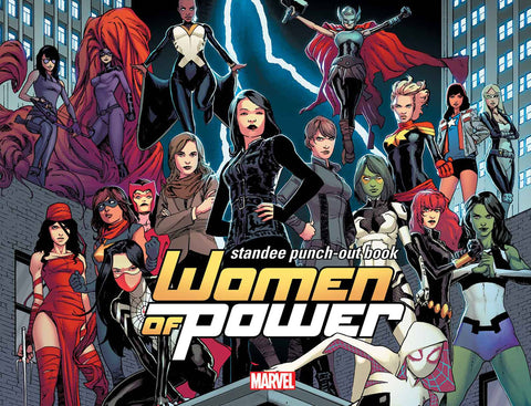 WOMEN OF POWER STANDEE PUNCH OUT BOOK HC