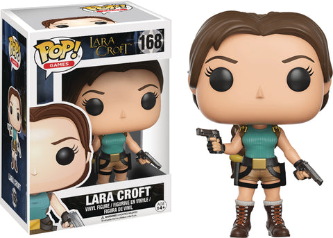 POP TOMB RAIDER LARA CROFT VINYL FIG 168