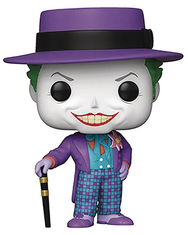 POP HEROES BATMAN 1989 JOKER W/HAT W/CHASE VINYL FIG (OCT198