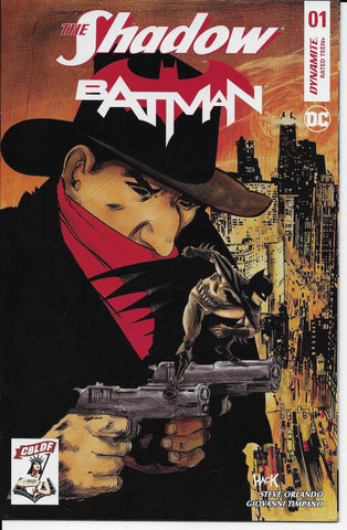 Shadow Batman #1 (CBLDF Variant) Front