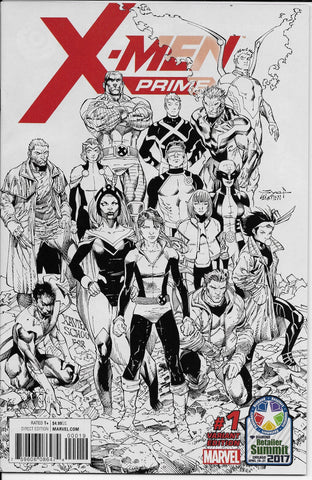 X-Men Prime #1 (2017 Diamond Retailer Summit Edition) Front