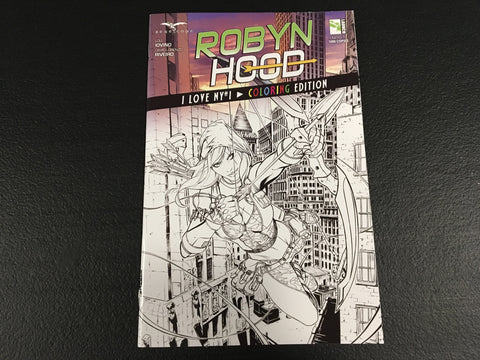 Robyn Hood I Love NY #1 Coloring Edition