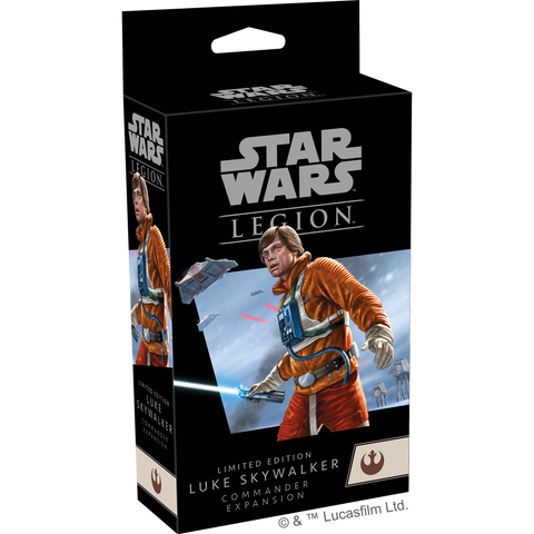 LIMITED EDITION Luke Skywalker Commander Expansion