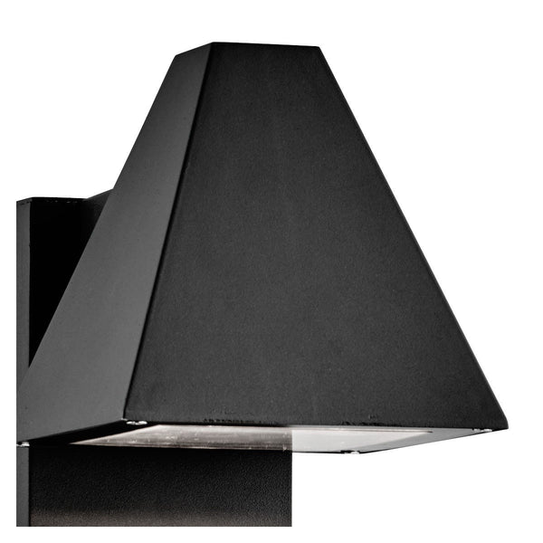 Ip44 Pyramid Grey Outdoor Post Light