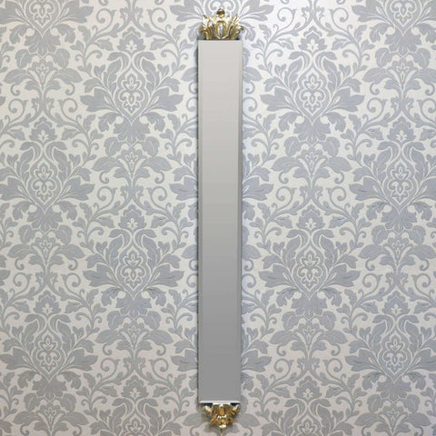 109cm X 13cm Silver Bevelled Mirror (+More Styles)