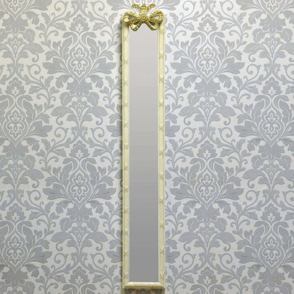 109cm X 13cm Antique White Wall Mirror (+More Styles)