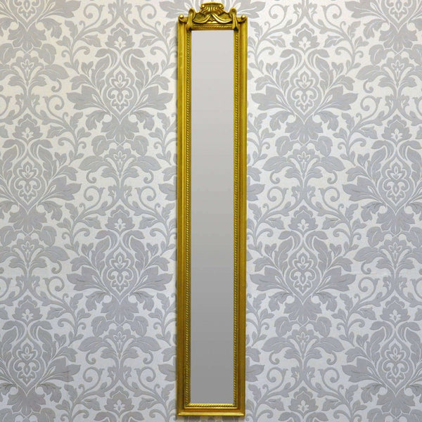 109cm X 13cm Bevelled Wall Mirror (+More Colours)