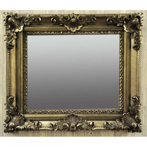 36Inx48In Swept Frame Bevelled Mirror (+More Colours)