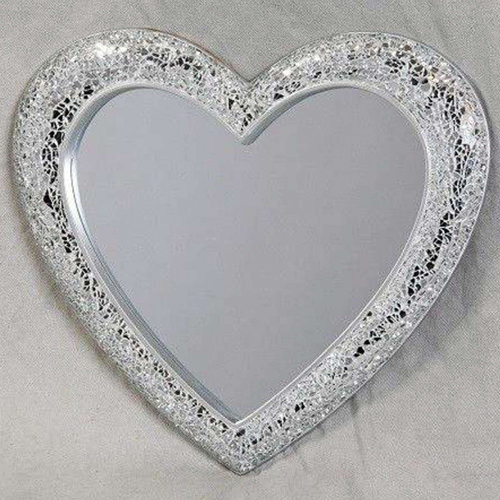 Heart Shaped Silver Mirror (+More Sizes)
