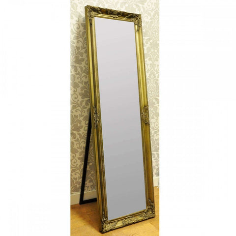 "14 x 58"" Champagne Framed Mirror"