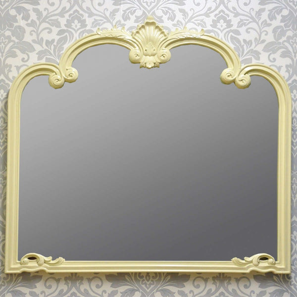 Oval Mantle Mirror (+More Colours)