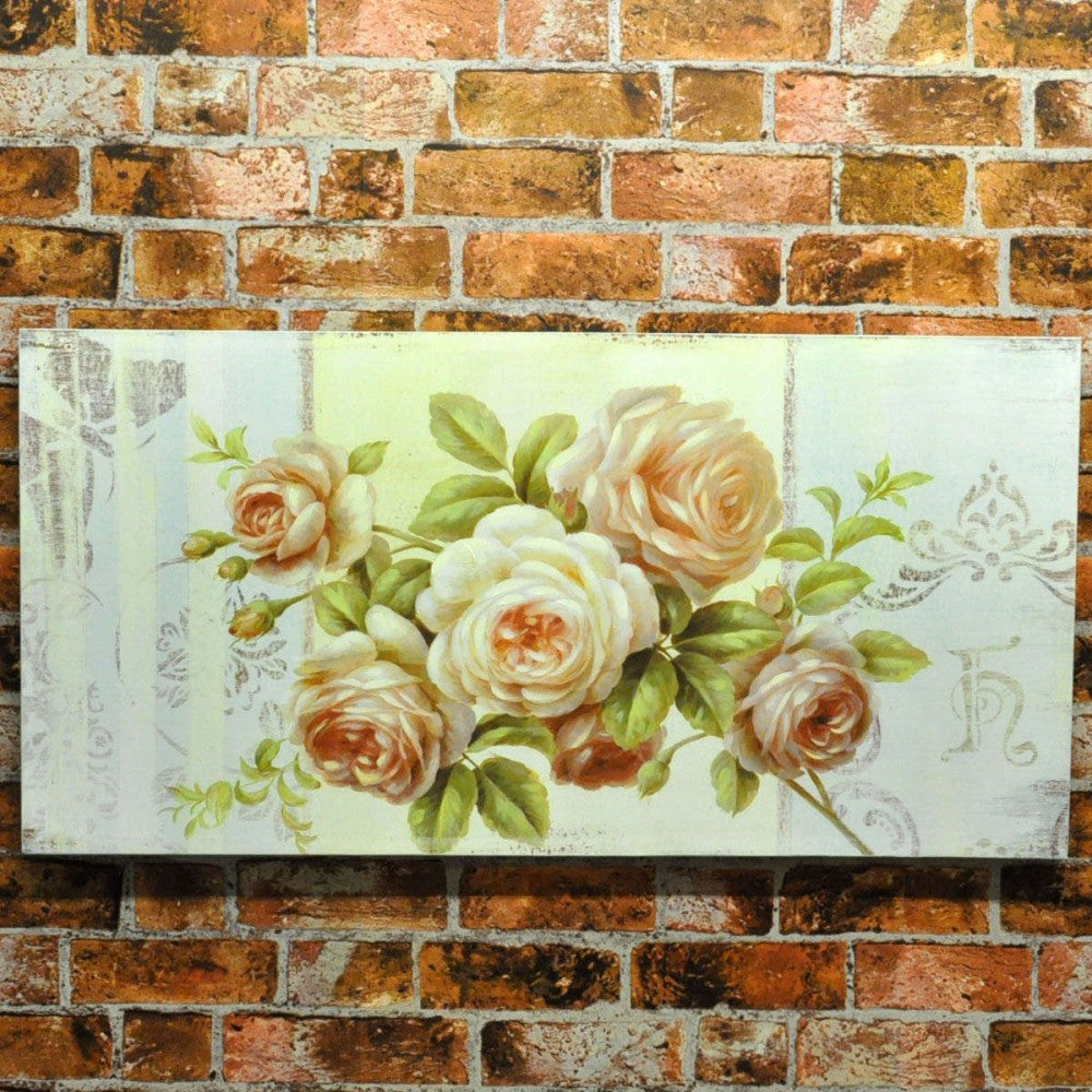 100cm X 50cm Roses Flowers 2 Assorted
