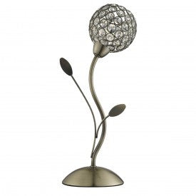 Bellis Ii Table Lamp With Clear Glass Shade (+ More Colour)