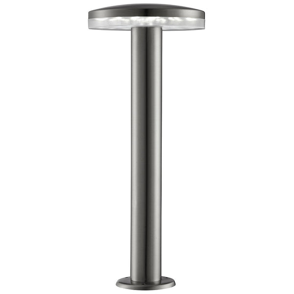 Stainless Steel Ip44 30 Led Outdoor Bollard Light With Frosted Diffuser