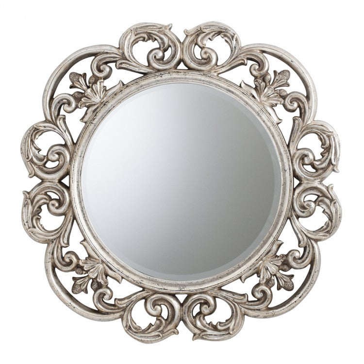 Chartwell Mirror Silver