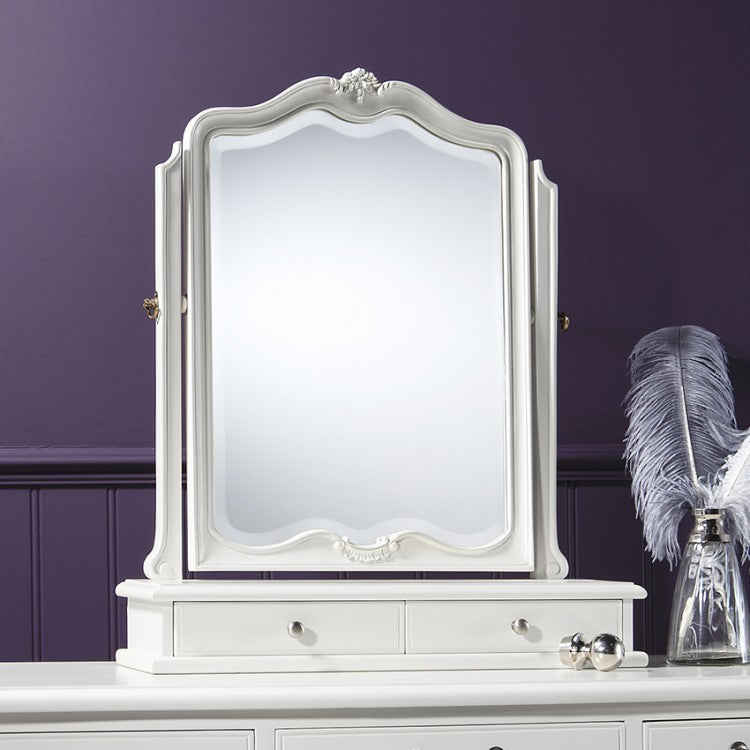 Chic Chalk Table Mirror