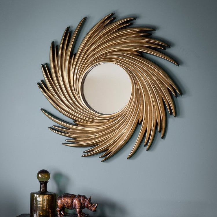 Claygate Mirror Gold