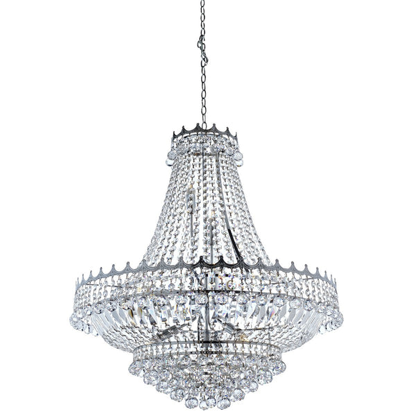 Versailles 13 Light Chandelier Trimmed with Crystal(+More Colours)