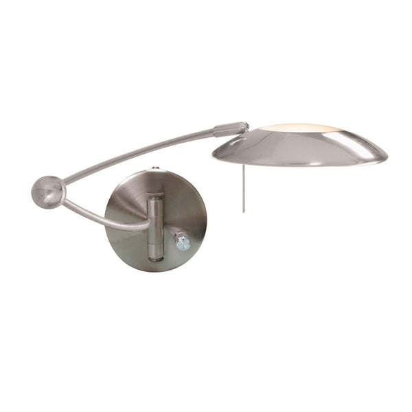 ADJUSTABLE SWING-ARM HALOGEN WALL LIGHT (+More Colours)