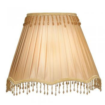 Box pleat shade with bead 10 Inch (+More Colours)