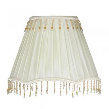 Box pleat shade with bead Candle Size (+ more colours)