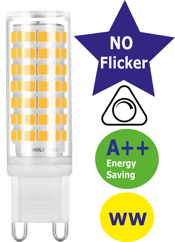 Dimmable LED G9 3W 3000K (Warm White)