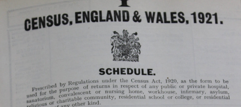 Contract awarded to publish the 1921 Census online