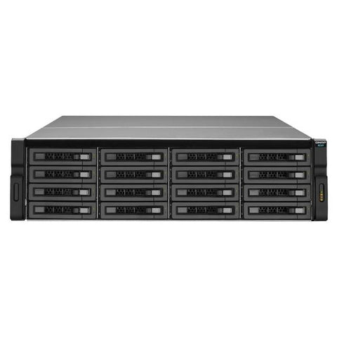QNAP REXP-1610U-RP-US SAS/SATA/SSD 16-Bay 3U Rackmount RAID Expansion Enclosure for QNAP NAS