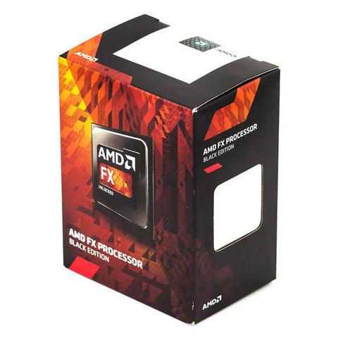 AMD FX-8370E Eight-Core Vishera Processor 3.3GHz Socket AM3+, Retail