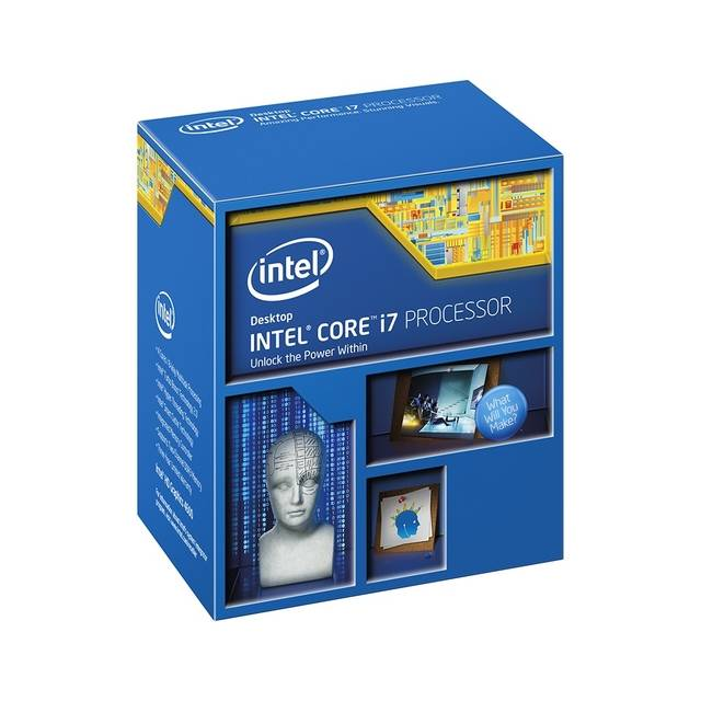 Intel Core i7-4790K Devil's Canyon Processor 4.0GHz 5.0GT/s 8MB LGA 1150 CPU w/o Fan, Retail