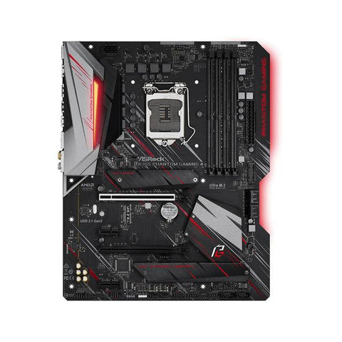 ASRock B365 PHANTOM GAMING 4 LGA1151/ Intel B365/ DDR4/ Quad CrossFireX/ SATA3&USB3.1/ M.2/ A&GbE/ ATX Motherboard